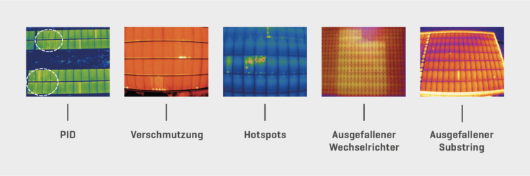 5 Bilder der häufigsten Defekte bei Photovoltaikanlagen