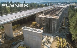 Bridge Autobahn Motorway Drone Photo Surveying