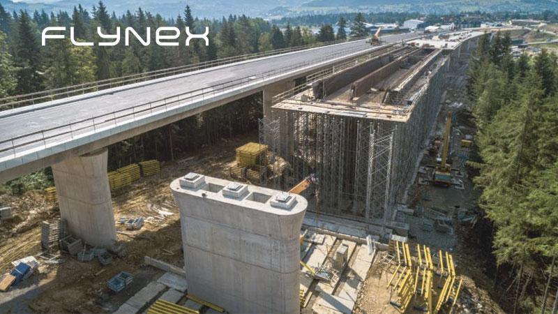 Bridge Autobahn Motorway Drone Photo Surveying