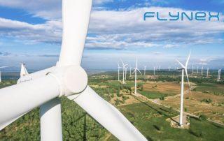 WInd Kraft Energie Drohne Inspektion