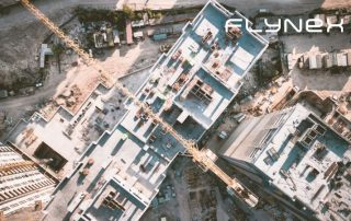 Baustelle Drohne Aufnahme Dokumentation