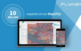 10 Million requests in the Map2Fly