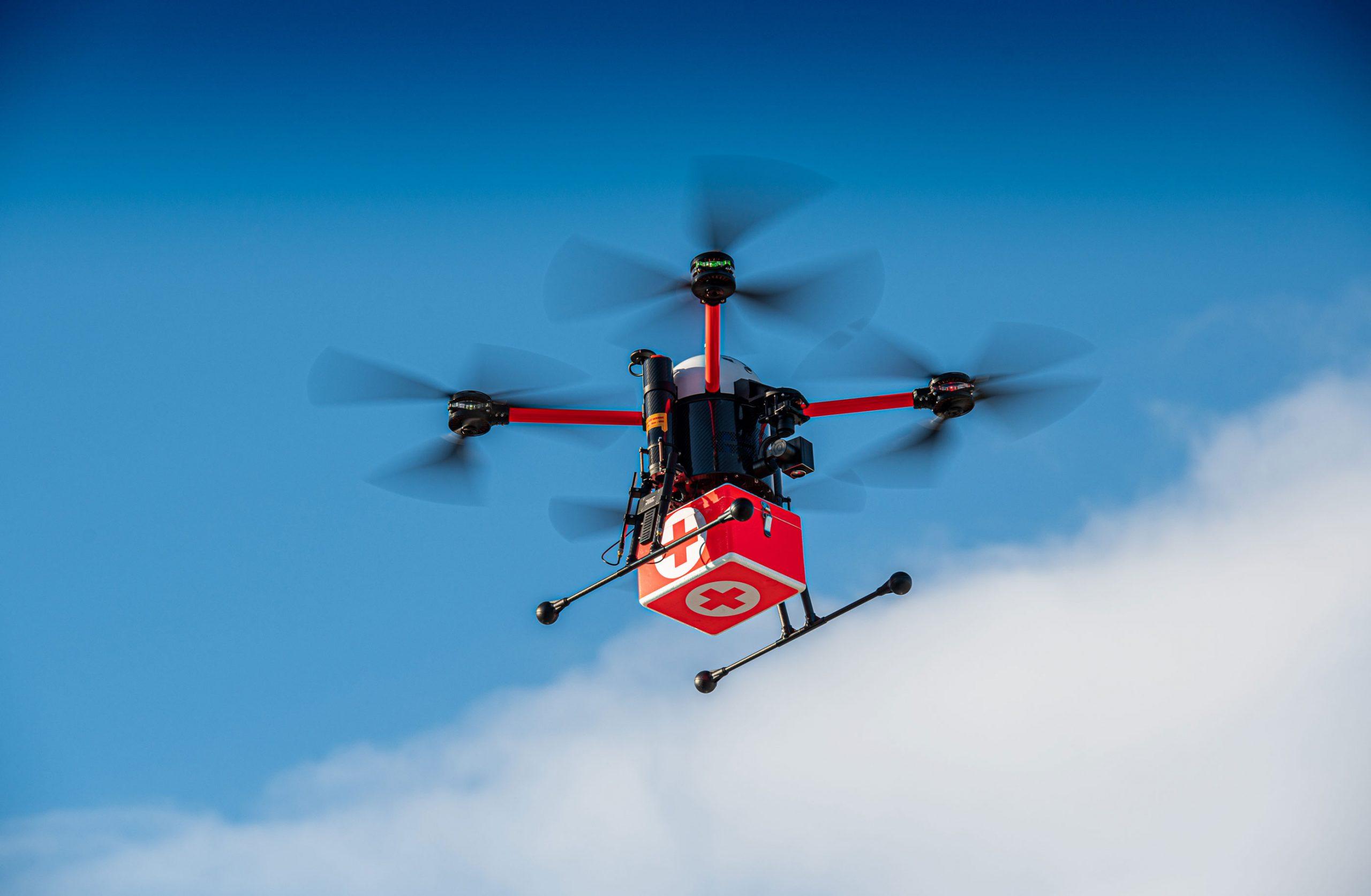 Medifly Drohne Medi-Drohne
