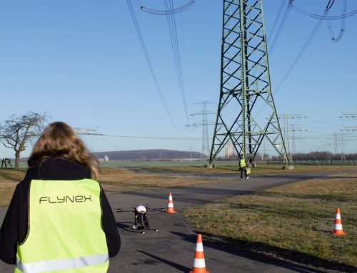 Successful inspection of power lines with drones and artificial intelligence