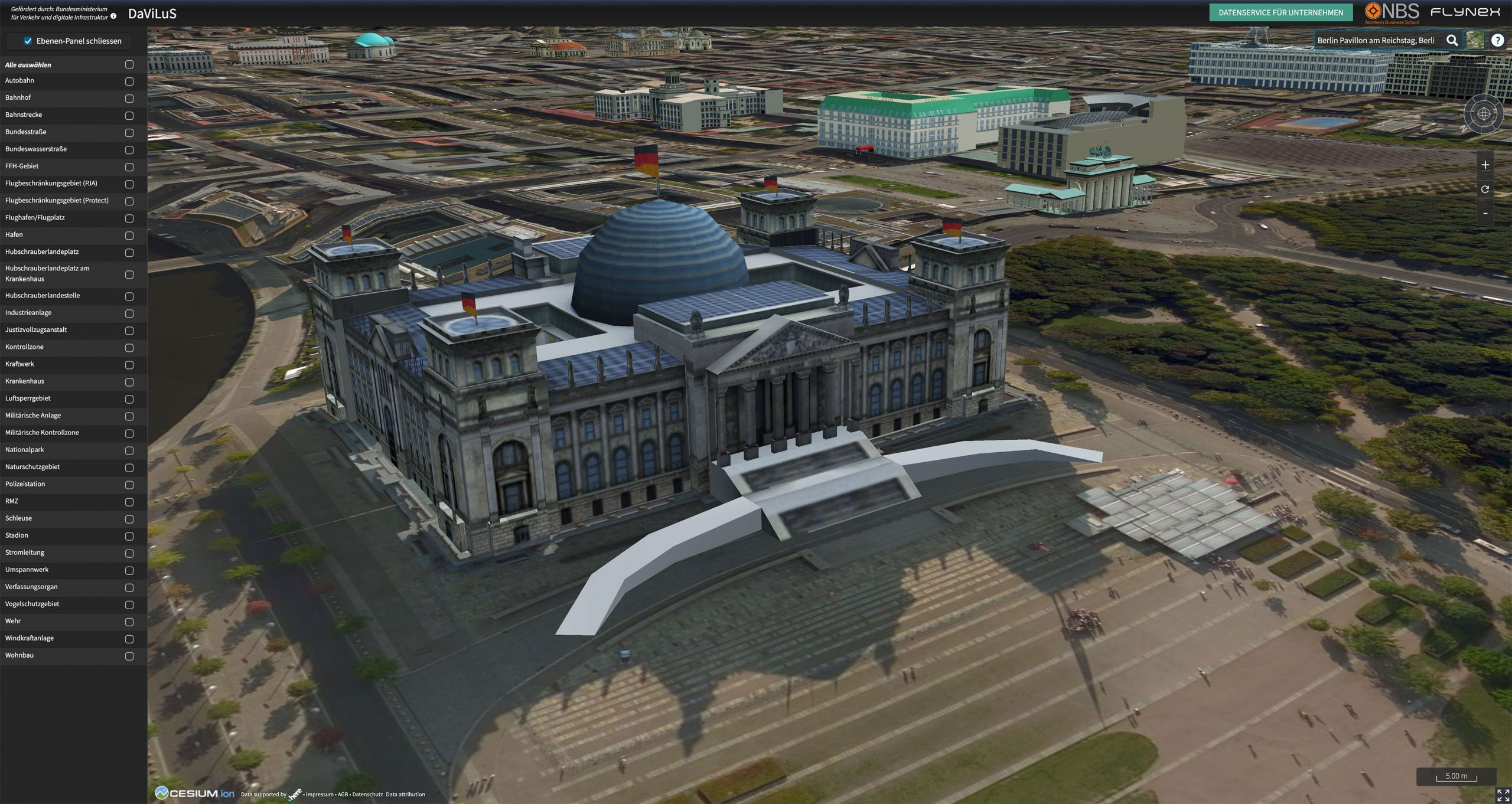 DaViLus Screenshot Reichstag