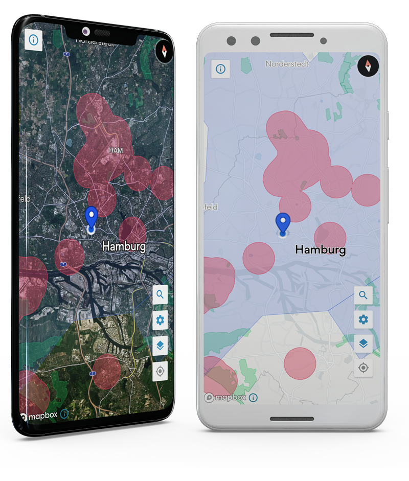 Map2Fly App for Drones