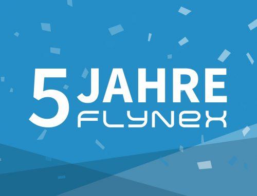5 Jahre FlyNex! – Unsere Highlights zum Jubiläum