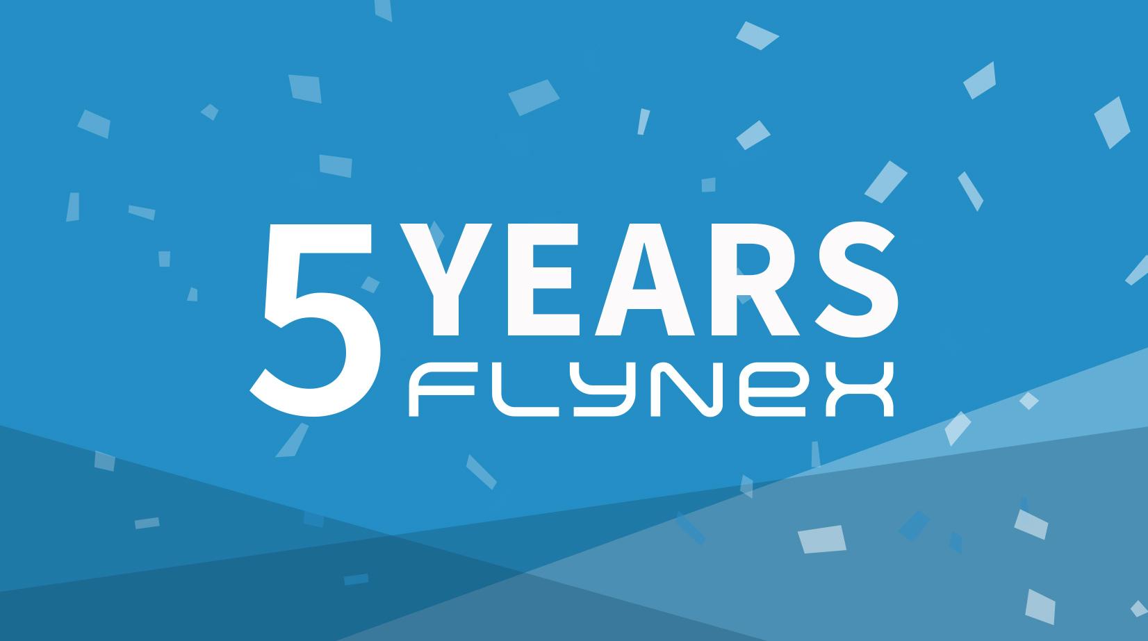 5 Years FlyNex Anniversary