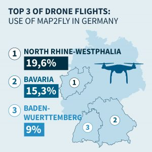 Drones taking off in Germany