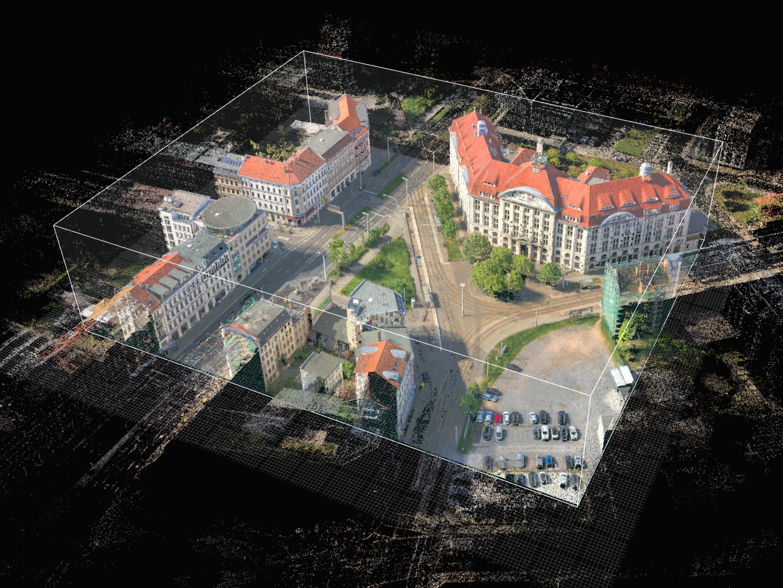Software Punktwolke Liebknecht Platz