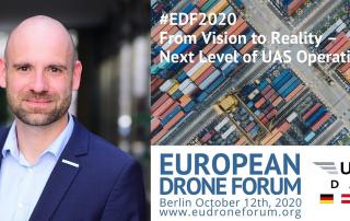 FlyNex Michael Petrosjan European Drone Forum 2020