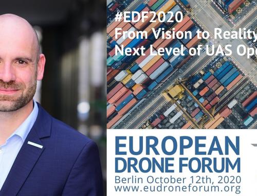 FlyNex auf dem European Drone Forum 2020