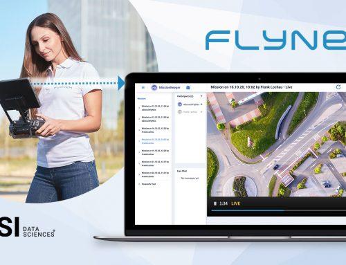Live Video- und Daten-Stream von Drohnen