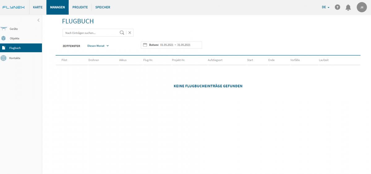 Flugbuch FlyNex Enterprise Suite