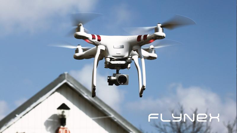 Dachinspektion mit Drohne