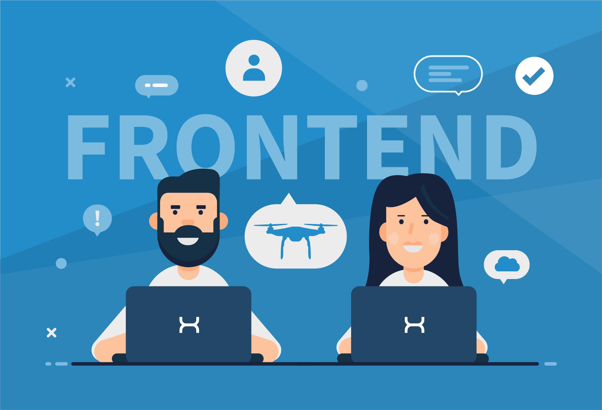 Frontend Software Job Career Code