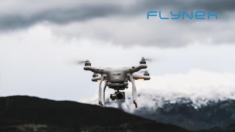 Drohne bei schlechtem Wetter