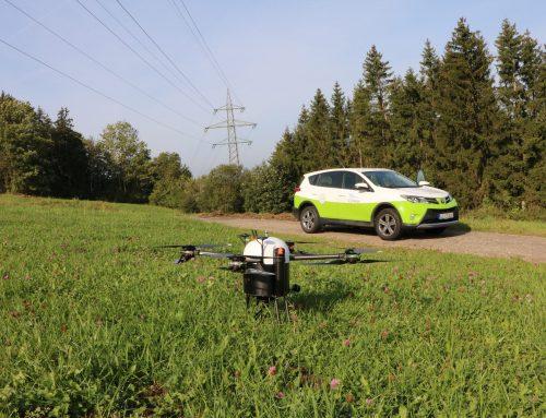 FlyNex und ED Netze inspizieren Stromnetz mit Drohne in BVLOS